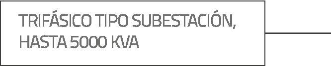 Trifásico subestación